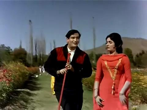 Laal Chhadi Maidaan Khadi----Jaanwar(1965)
