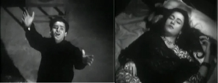 Dheere Chal Dheere Chal, Ae Bheegi Hawa ---- Boyfriend(1961)