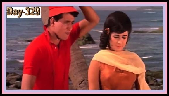 Ek Ladkee Hain Jisne Jina Mushkil Kar Diya FROM Gumnaam (1965)...