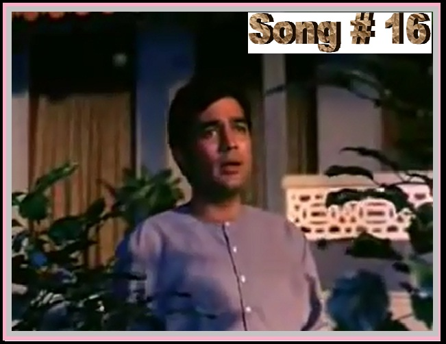 TRIBUTE TO MUKESH -- KahiN Door Jab Din Dhal Jaye FROM Annad(1971) Sung By Dr Dilip Deliwala....