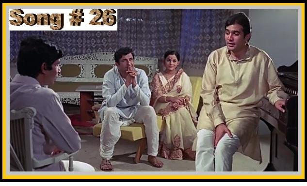 TRIBUTE TO MUKESH -- Maine Tere Liye Hi Saat Rang Ke Sapne Chune FROM Anand(1971) Sung By Dr Dilip Deliwala...
