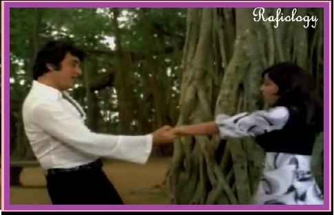 Mohabbat Hi Mohabbat Hain, Jahan Tum Ho Jahan Hum Hai FROM Geeta Mera Naam(1974)..