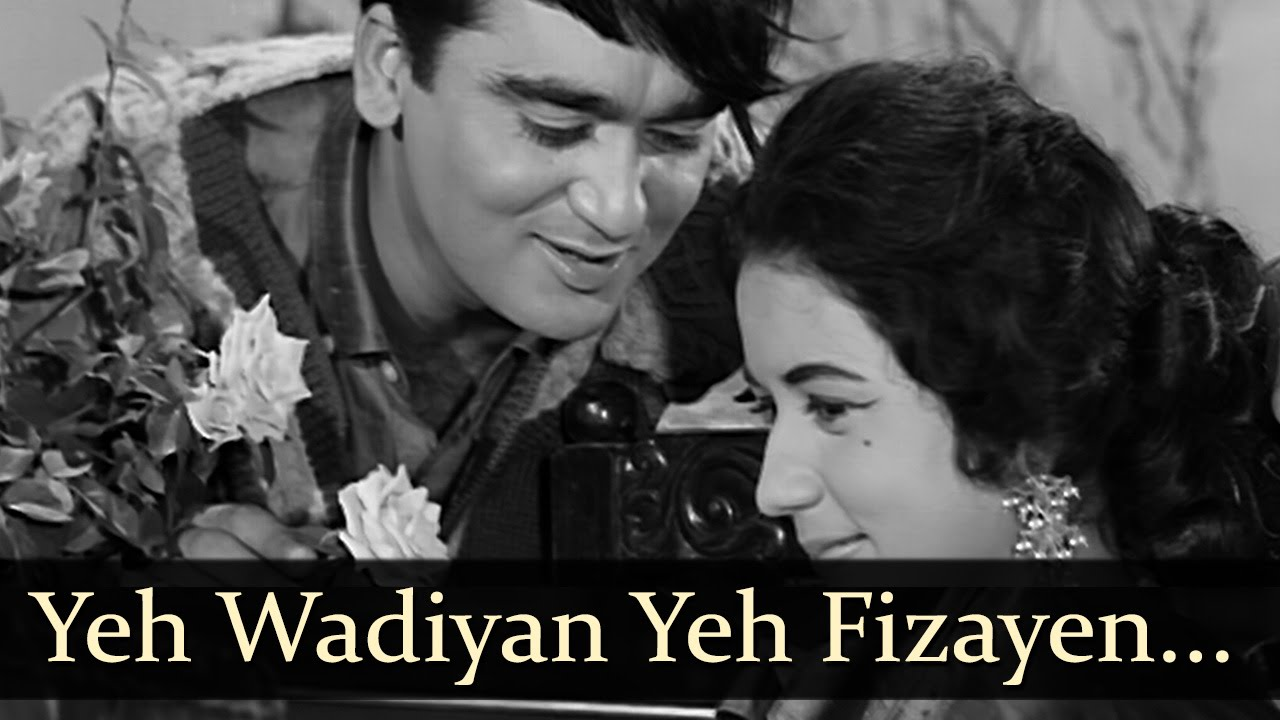 Ye Vadiyan Ye Fizaen Bula Rahi Hain Tumhe --- Aaj Aur Kal (1963)...
